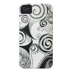 ABSTRACT ATTACK PROTECTIVE I-PHONE CASE Case-Mate iPhone 4 CASE