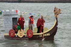Course d'OFNI (objet flottant non identifié) sur la Seine - prologue de l'Armada