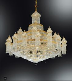 Ottoman Grand Crystal master Ancient China, Gold Hands, Glass Chandelier, Antique Furniture, Light Up, Light Fixtures, Sconces, Oriental, Ceiling Lights