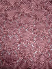 """Ravelry: """"Lots of Love"""" Baby Blanket pattern by Angel Ces"""