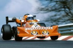 Jochen Mass in his Jägermeister, March 772 Formula 2