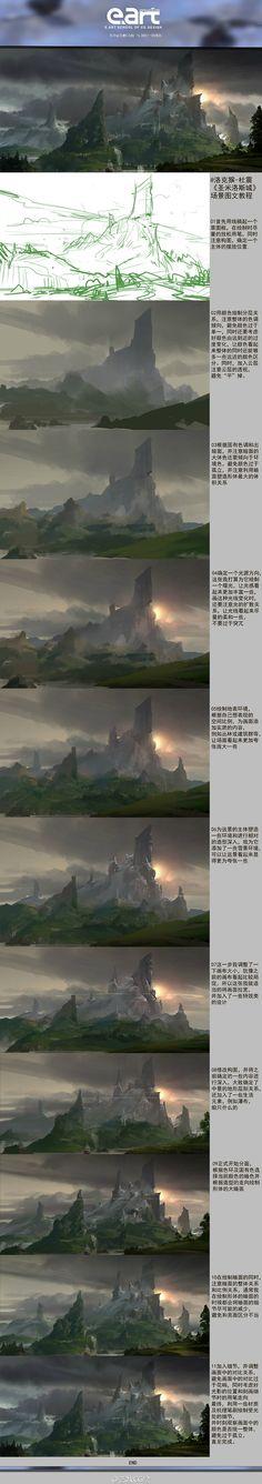 艺数CG绘的照片 - 微相册@CG窝采集到【图文教程】(523图)_花瓣插画/漫画