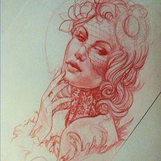 by justinhartmanart (Justin Hartman) | Tattoo design | Pinterest