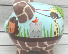 Alcancía personalizada helado artesanal de la mano por Alphadorable