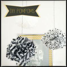 DIY pompoms selbermachen was eigenes blog