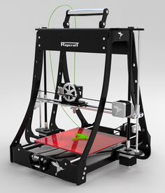 RepRap takes the form of a free desktop 3D printer capable of printing plastic objects. Since many parts of RepRap are made from plastic and RepRap prints those parts, RepRap self-replicates by making a kit of itself - a kit that anyone can assemble given time and materials. It also means that - if you've got a RepRap - you can print lots of useful stuff, and you can print another RepRap for a friend...