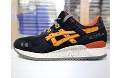 "ASICS Gel-Lyte III ""Black/Tan"""