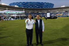 Rafael Moreno Valle reinaugura el estadio de Béisbol Hermanos Serdán