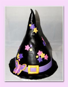 Witches Hat - I made this for a little girls birthday for Halloween