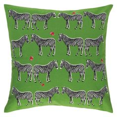 Habitat Zig Zebra Patterned Cushion - 45 x at Homebase -- Be inspired and make your house a home. Buy now. Printed Cushions, Scatter Cushions, Green Pillows, Throw Pillows, Wedding Gift List, Green Zebra, Elephant Pattern, Home Pictures, Cushion Pads
