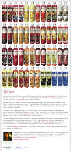 So many delicious flavors! :-P, janessa they are real sodas Mcintosh Apples, Ideal Protein, Pink Grapefruit, Diet Coke, Sparkling Ice, Junk Food, Watermelon, Blueberry, Delish
