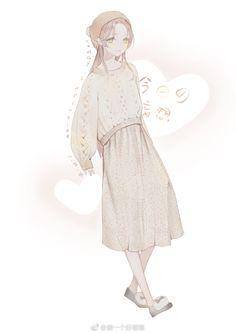Manga Anime, Manga Girl, Anime Chibi, Anime Art Girl, Kawaii Anime, Cartoon Girl Images, Cartoon Art, Character Art, Character Design