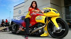 Now A Mom, NHRA champ Angelle Sampey Still Has The Fire For Racing