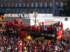 Spanish World Cup celebration - Selección de fútbol de España - Wikipedia, la enciclopedia libre