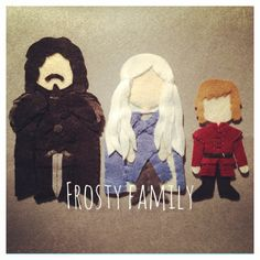 Game of Thrones felts
