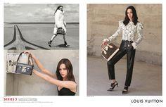 """Louis Vuitton """"Series 3"""": il tocco di Ghesquière con Juergen Teller e Bruce Weber - Una terza campagna per Nicolas Ghesquière, due fotografi d'eccezione, un cast invidiabile di top model. Ecco """"Series 3"""", nuova campagna pubblicitaria Autunno-Inverno 2015/16 di Louis Vuitton.  - Read full story here: http://www.fashiontimes.it/2015/07/louis-vuitton-series-3-il-tocco-di-ghesquiere-con-juergen-teller-e-bruce-weber/"""