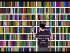 Las mejores citas, pensamientos y frases sobre lectura y libros - YouTube