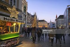 Christmas and new year is a joyful time in Europe.Munich is no exception ;every year food and drink stands serve shoppers during their time in the old town.
