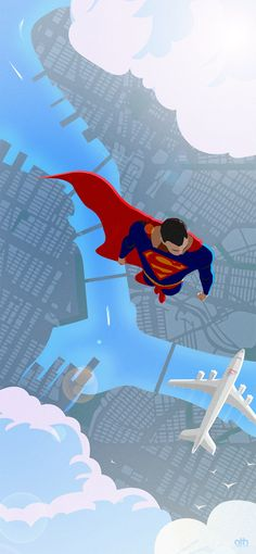 Kal-El, Son Of Krypton (The Art Of Superman) — geekfilter-blog:   Metropolis Morning Commute ...