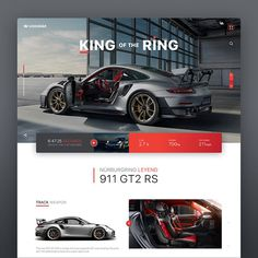 Legendär __ a tribute site for a Legendary Beast! The Porsche 911 RS. Design by . Modern Web Design, Web Ui Design, Best Web Design, Web Design Trends, Design Blog, Ad Design, Graphic Design, Website Design Inspiration, Website Design Layout