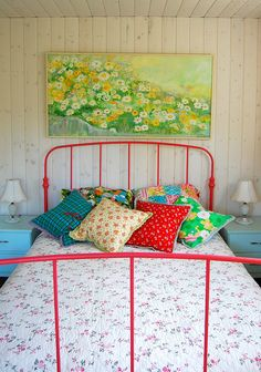 bedroom at our lake cottage... | Flickr - Photo Sharing!