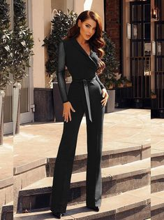 Dress Outfits Ideas - How do you spice up a plain prom dress? 2019 Dress Outfits Dress Outfits Ideas - How do I not look Basic? Dress Outfits Ideas - How should a woman dress for a club? Plain Prom Dresses, Trendy Dresses, Paris Chic, Rompers Women, Jumpsuits For Women, Casual Jumpsuit, Plus Size Jumpsuit, Frack, Woman Outfits