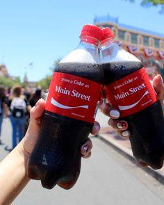 "Lindsay & Angela (@thedisneylandduo) on Instagram: ""Share a coke on Main Street!"""
