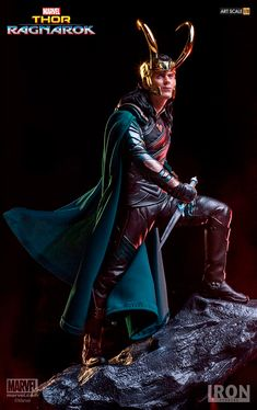#Loki BDS Art Scale 1/10 - #ThorRagnarok. Via eyes_on_tom on Instagram
