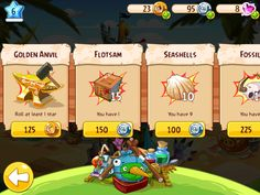 angry birds epic gui - Google Search