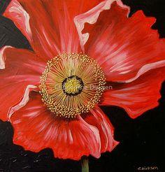 Red Poppy by Cherie Roe Dirksen