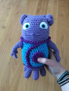 Oh from Dreamworks' Home by ScreentoStitch on Etsy
