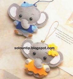 olifantjes van vilt
