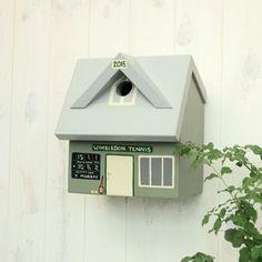 Personalised Tennis Club Bird Box