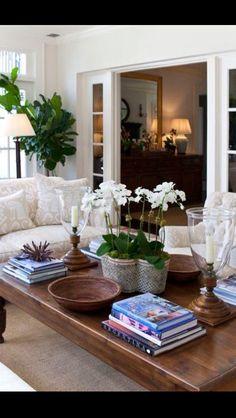 Home Interior Contemporary neutral_living_room.Home Interior Contemporary neutral_living_room Table Style, Home And Living, Decor, Interior Design, House Interior, Chic Living Room, Interior, Living Decor, Elegant Living