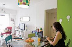 Colores vibrantes y mucha creatividad en 47m2   ESPACIO LIVING