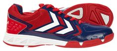 Chaussures Hummel Celestial X7 rouges http://www.sport-time.fr/