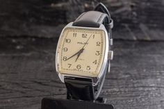 Vintage Poljot mens watch, vintage russian watch