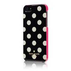 kate spade iPhone 5 Case - Apple Store ...like the polka dots !