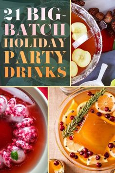 21 Big-Batch Cocktails To Get Everyone Drunk At Your Holiday Party