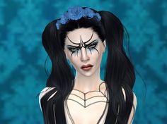 Blue Gothic Rose
