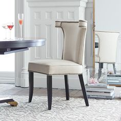 Featuring dynamic proportions our Sonia Dining Chair in Sandusky Sand is designed to add dimension to your dining space. & 14 Best Dining u0026 Kitchen Chairs images | Dining room sets Dining ...