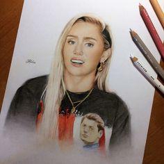 Drawing of Miley Cyrus 2017 tags: miley cyrus drawing art hannah montana 2017 cyrus billy ray malibu inspired miley рисунок майли сайрус 2017