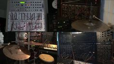 Robotic Drum Set and Analog Bass. This is drum & bass piece performed live using an automated drum kit and other percussion, playing togethe...