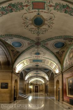 Corridor, Minnesota State Capitol, St Paul, Minnesota