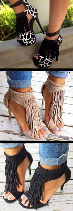 20 Fringe Sandals and Shoes That You Will Love