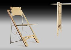 A completely flat folding chair. | 25 Ingenious Products That Will Save You So Much Space