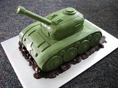 World War II Tank Cake | Flickr - Photo Sharing!