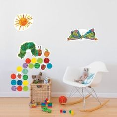wall decals - decorate for party, then keep for the kids' room!