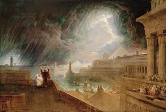 The Seventh Plague of Egypt, John Martin, 1823