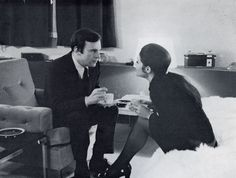Jean-Louis Trintignant, Françoise Fabian - Ma nuit chez Maud